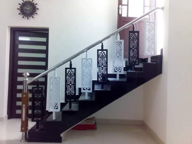 Stainless Steel Staircase Handrail Designs In Kerala | India