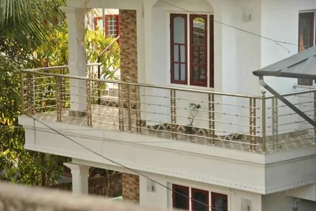 Balcony Handrails Work Ss Handrails Kerala India
