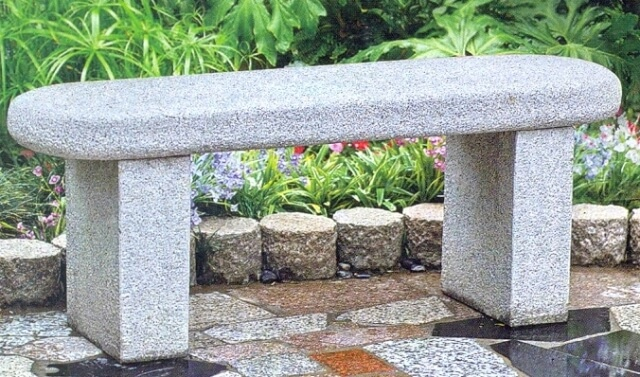 Fine Natural Stone Garden Benches Tables Kerala India Bralicious Painted Fabric Chair Ideas Braliciousco